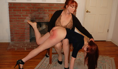 Spanking my girlfriends